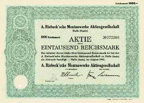 A. Riebeck'sche Montanwerke