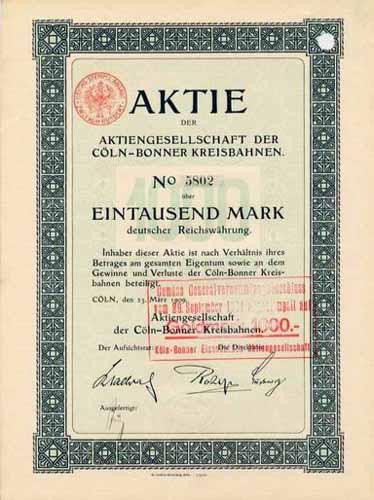 AG der Cöln-Bonner Kreisbahnen