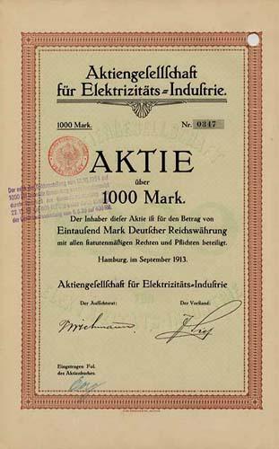 AG für Elektrizitäts-Industrie
