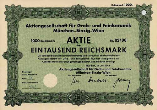 AG für Grob- und Feinkeramik