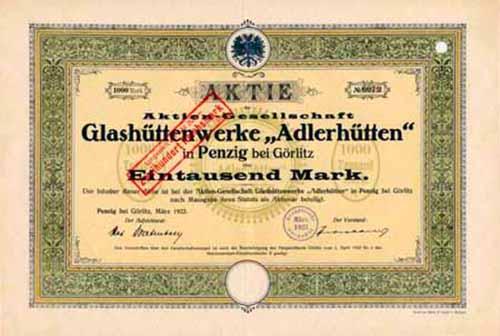 AG Glashüttenwerke