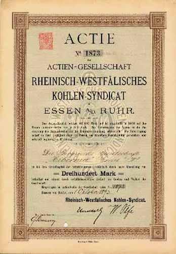 AG Rheinisch-Westfälisches Kohlen-Syndicat