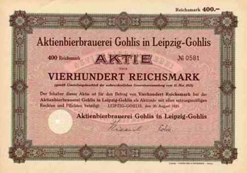 Aktienbierbrauerei Gohlis in Leipzig-Gohlis