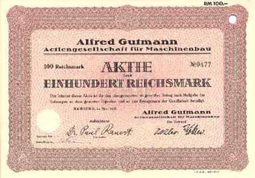 Alfred Gutmann AG für Maschinenbau