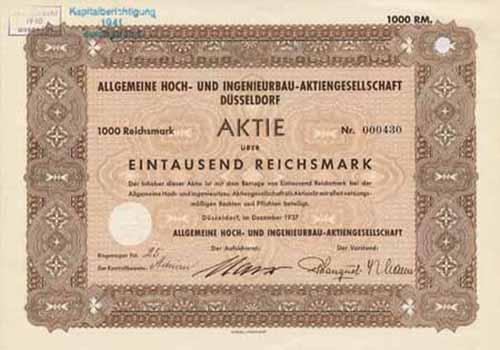 Allgemeine Hoch- und Ingenieurbau-AG