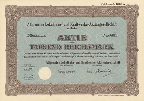 Allgemeine Lokalbahn- und Kraftwerke-AG