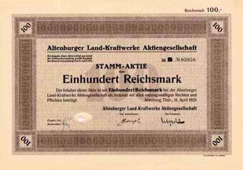 Altenburger Land-Kraftwerke