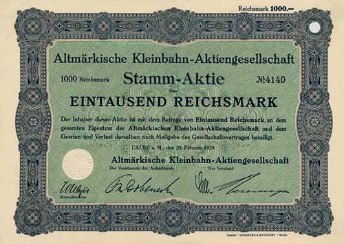 Altmärkische Kleinbahn-AG