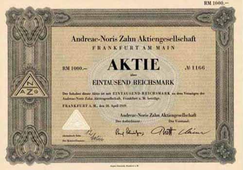 Andreae-Noris Zahn