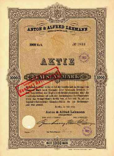 Anton & Alfred Lehmann