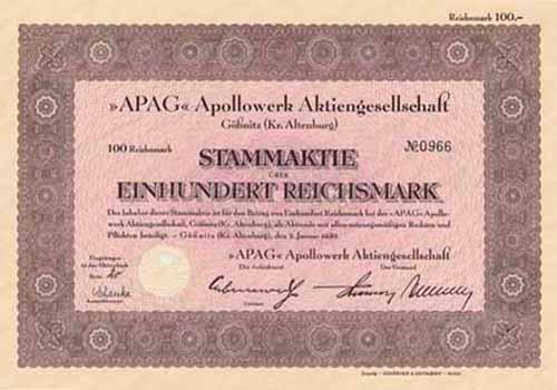 APAG Apollowerk