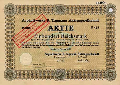 Asphaltwerke R. Tagmann