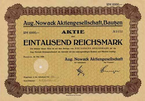 Aug. Nowack
