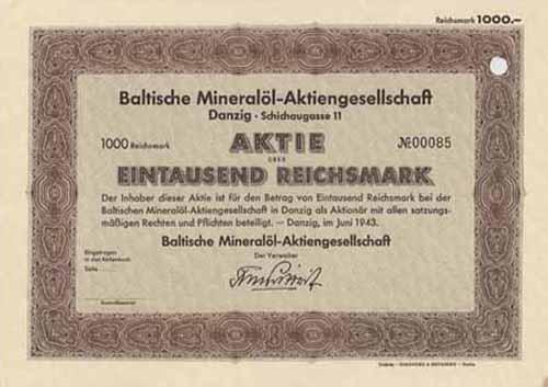 Baltische Mineralöl-AG