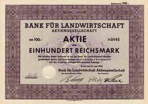 Bank für Landwirtschaft