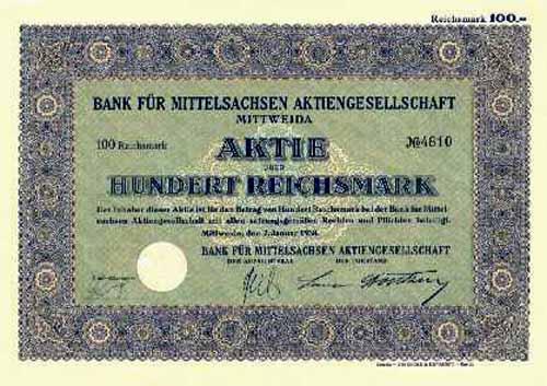Bank für Mittelsachsen