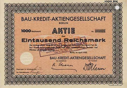 Bau-Kredit-AG