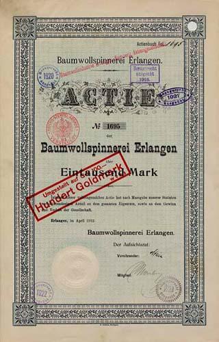 Baumwollspinnerei Erlangen