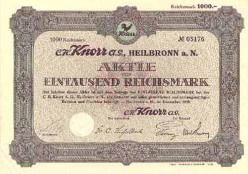 C. H. Knorr