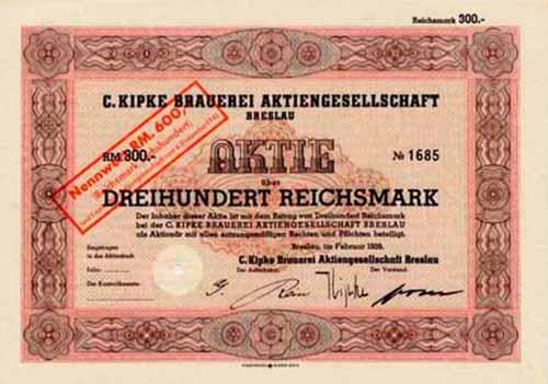 C. Kipke Brauerei