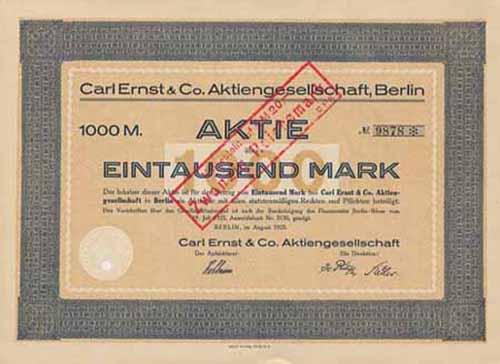 Carl Ernst & Co.