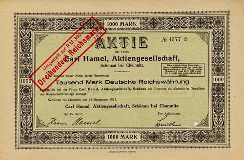 Carl Hamel
