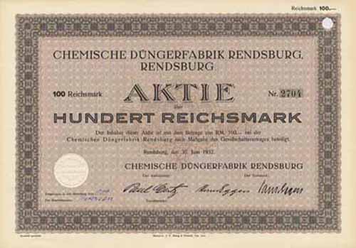 Chemische Düngerfabrik Rendsburg