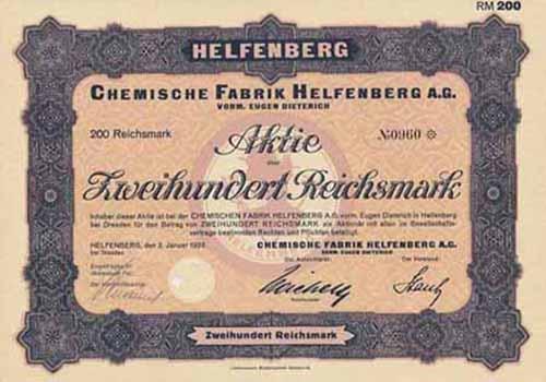 Chemische Fabrik Helfenberg vorm. Eugen Dieterich
