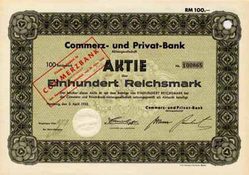 Commerz- und Privat-Bank