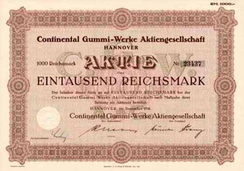 Continental Gummi-Werke
