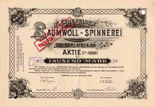 Crefelder Baumwoll-Spinnerei
