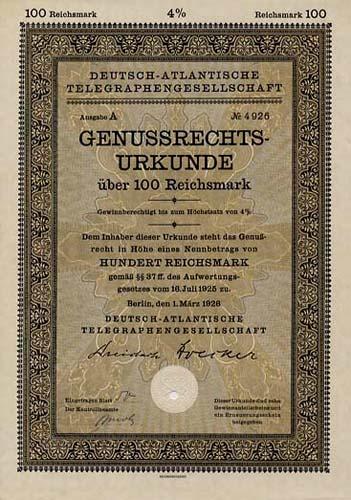 Deutsch-Atlantische Telegraphengesellschaft