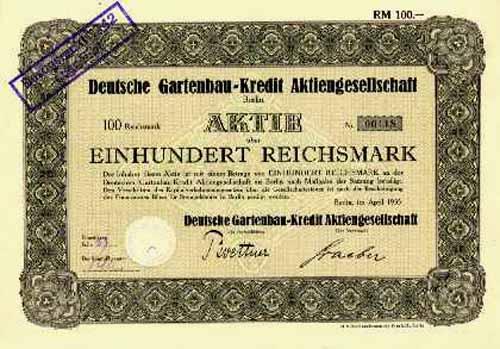 Deutsche Gartenbau-Kredit