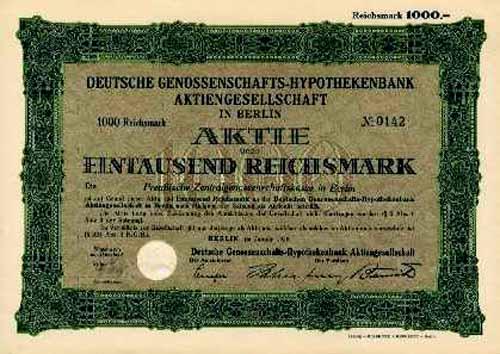 Deutsche Genossenschafts-Hypothekenbank