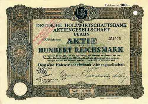 Deutsche Holzwirtschaftsbank