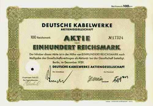 Deutsche Kabelwerke