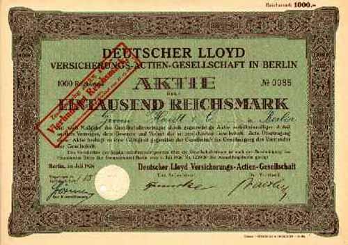 top brands best loved great prices Deutscher Lloyd Versicherungs-AG