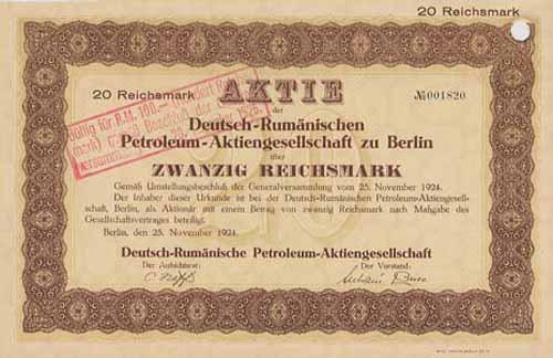 Deutsch-Rumänische Petroleum-AG