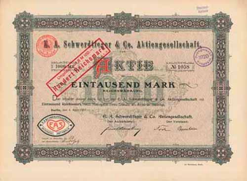 E. A. Schwerdtfeger & Co.
