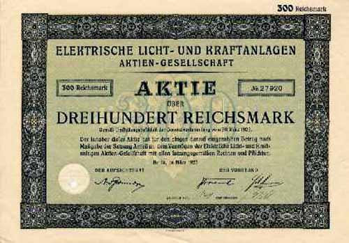 Elektrische Licht- und Kraftanlagen