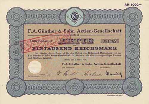 F. A. Günther