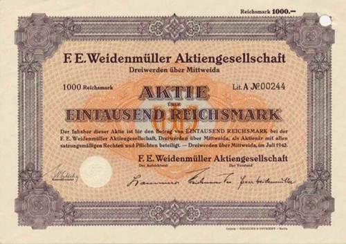 F. E. Weidenmüller