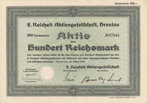 F. Reichelt