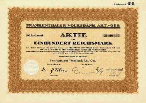 Frankenthaler Volksbank