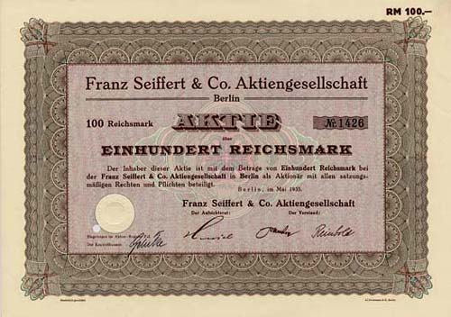 Franz Seiffert & Co.