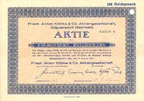 Friedr. Anton Köbke & Co.