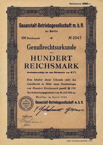 Gasanstalt-Betriebsgesellschaft mbH