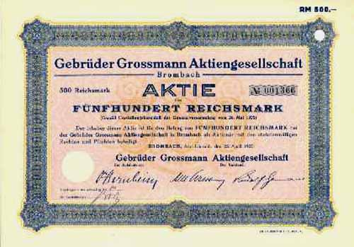 Gebrüder Grossmann