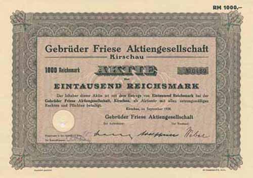 Gebrüder Friese