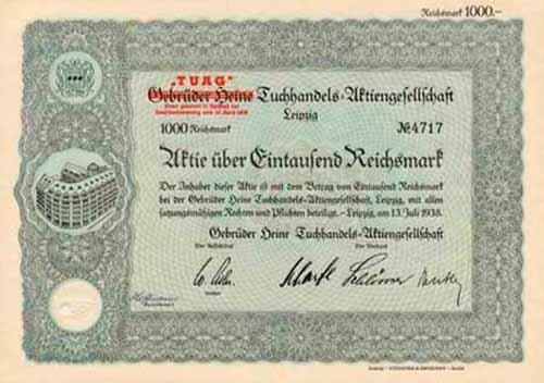 Gebrüder Heine Tuchhandels-AG